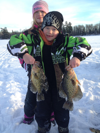 Crappies Ice Fishing
