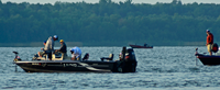 image of pro angler in the 2014 AIM Walleye Tournament on Lake Winnie