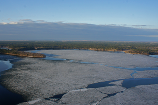 image of Cutfoot Sioux Ice Conditions
