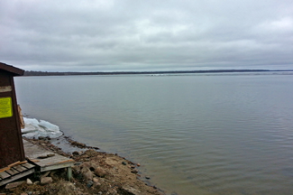 image of Ice Out on Bowstring Lake
