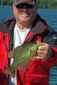 Leroy Kramer with nice Crappie