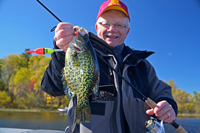 image of Erling Hommedahl with nice crappie