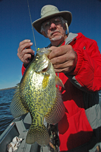 Dale Schroeder with Slab Crappie