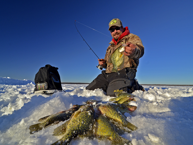 February ice fishing reports ice fish mn 2014 archive for Ice fishing guides minnesota