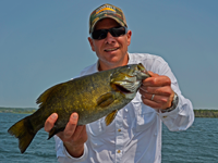 image of Smallmouth Bass caught by Michael during the Daikin Fisharoo