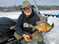 image of Greg Clusiau with big Bluegill