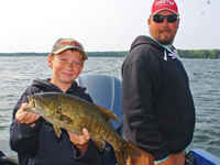 image of Pokegama Lake Smallmouth Bass caught by Dylan Kukkonen