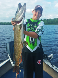 Monster Pike Pokegama Lake