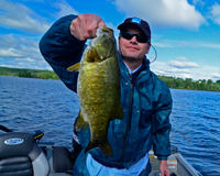 image of Smallmouth caught by Dave during the Daikin Fisharoo