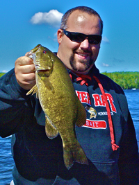 image of Smallmouth Bass caught on Pokegama