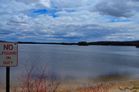 image of Lake Pokegama Tioga Bay on May 3