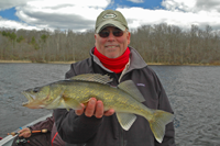Don Hook with a nice Walleye