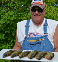 image of Bob Slager with nice Crappies