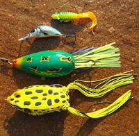 image of bass lures