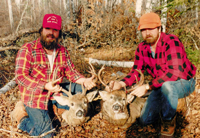 image of Rip and Bruce with two nice buck deer