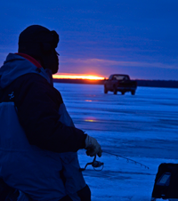 image of Leech Lake Ice Fishing