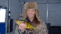 image of Kristin Hastings holding Perch