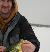 image links to ice fishing report for minnesota