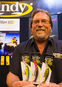 image of Steve Kusske with Lindy Wally Demon Crankbaits