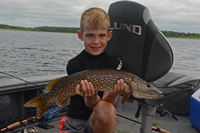 image of Owen Cheatham with nice Pike