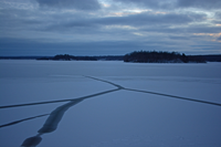 image of pokegama lake on december 10 2016