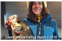 image links to central mn fishing report