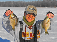 image of Erin Budrow with nice sunfish