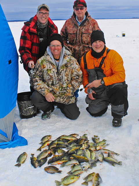Greg clusiau archived fish reports from 2016 fishing season for Bowstring fishing report