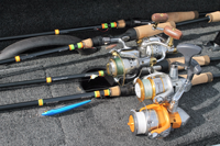 image of tuned up custom rods