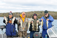 image of brian brosdal with limit of walleye