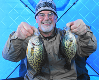 image of chuck clinker with big crappies