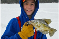 image of will silvis with nice crappie