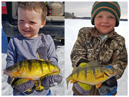 image of kid wqith huge perch