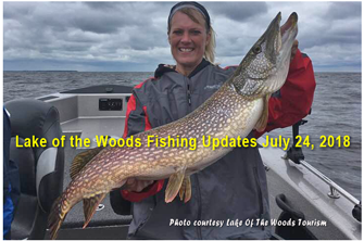 Minnesota Fishing Reports For July 2018