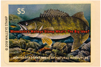 image links to article about walleye stamp