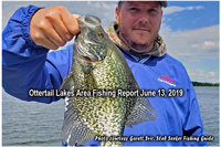 image of man with big crappie
