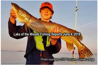 image of man with giant northern pike