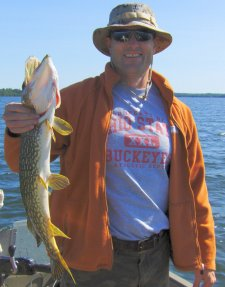 Northern Pike Mike July 2009