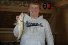 Walleye Red Lake Cody December 2009