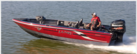 image of Lund Boat on Water 208 ProV GL