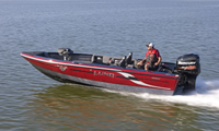 image of Lund 208 ProV GL on water