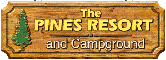 image links to the Pines Resort and Campground