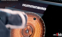 image links to video about Humminbird 360 ice fishing