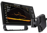 image links to video about humminbird live imaging