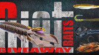 image denotes fishing product giveaway