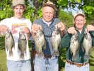 Red Lake Crappies like these were one of the highlights of the 2002 fishing season