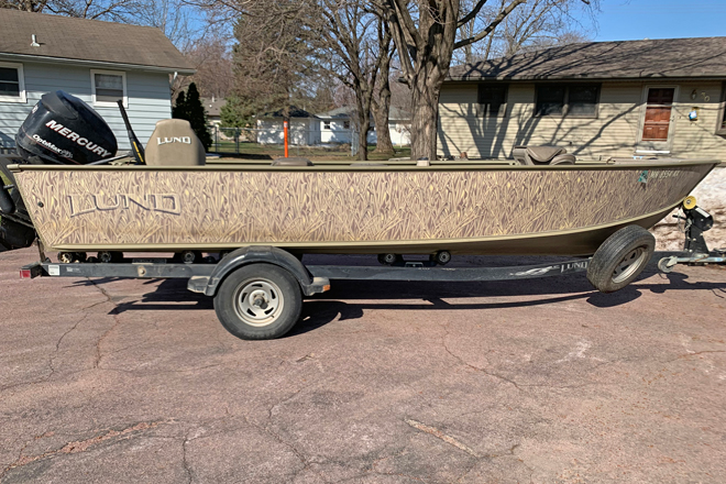 Lund Fishing Boat For Sale 2000 Alaskan 208 Pro V GL