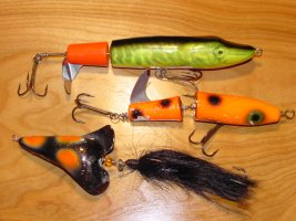Musky Topwater Lures