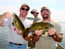 Smallmouth Double Jeff Weis and TJ Erdman 7-21-06