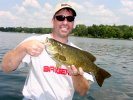 Smallmouth Bass Jeff Weis 7-21-06